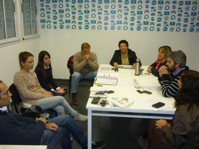 Concejales del FpV/PJ se reunieron con directivas del CEPLA