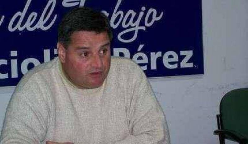 """Tras la denuncia de la oposición, el concejal Pérez aseguró que no hay """"incompatibilidad""""."""