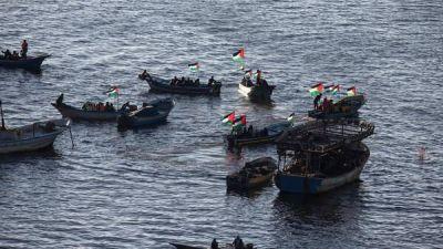 Israel intercepta un barco de activistas mujeres que intentaban llegar a Gaza
