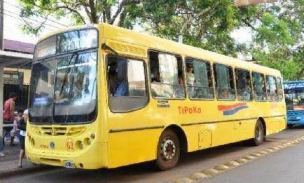 Paro de colectivos: desde la madrugada, no habrá transporte público en Posadas