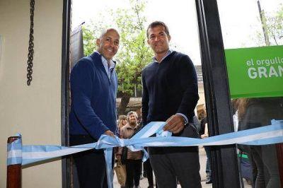 Ducoté y Gribaudo abrieron una nueva oficina del IPS en Pilar
