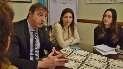 La Subsecretaria de Genero provincial visitó Lujan