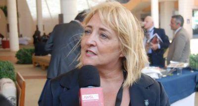 La diputada Ivana Bianchi fue designada interventora del club Estudiantes