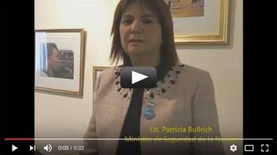 El saludo de la ministra de Seguridad Patricia Bullrich por Rosh Hashaná
