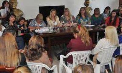 PJ. Las mujeres reclaman la mitad de los cargos electivos