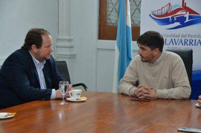 Funcionarios provinciales de Miner�a se reunieron con Galli