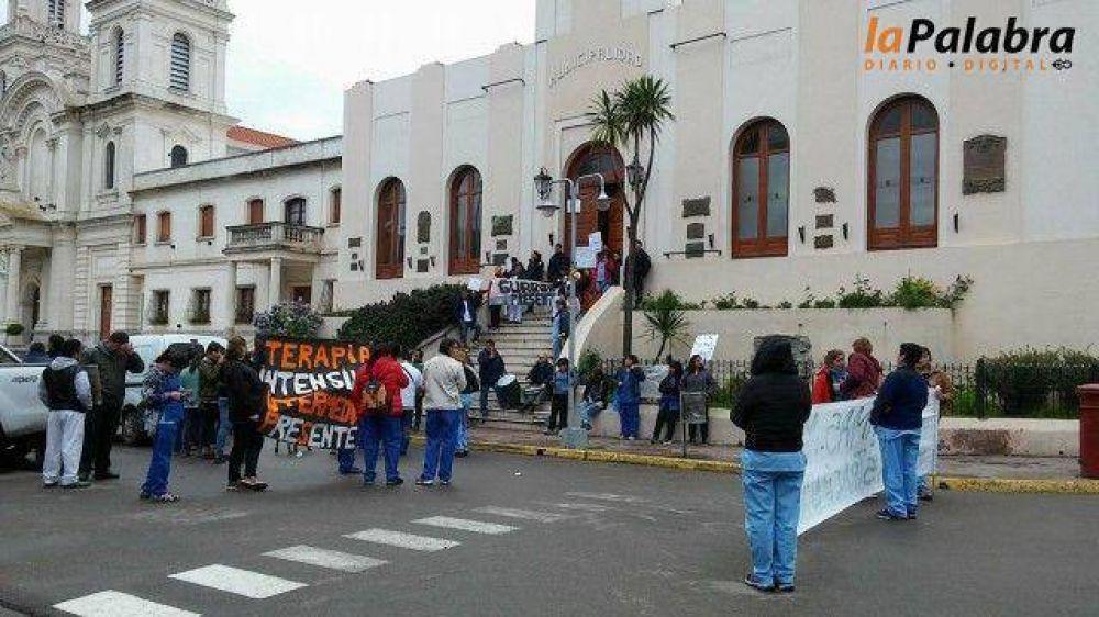 Municipales de Patagones (ATE) se movilizan nuevamente por las calles de la ciudad