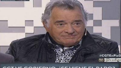 Barrionuevo se mostró moderado, pero mantuvo la presión del paro