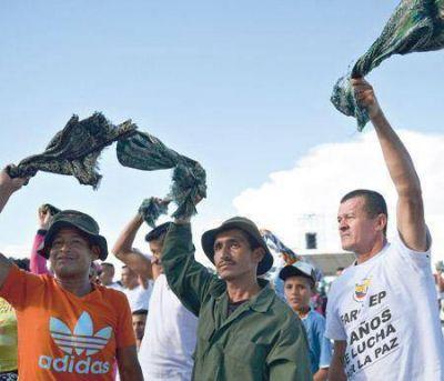 La guerrilla vuelve a ocupar posiciones en la selva