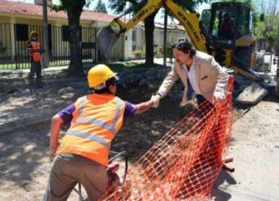 S�enz apura el arreglo de calles antes de las lluvias