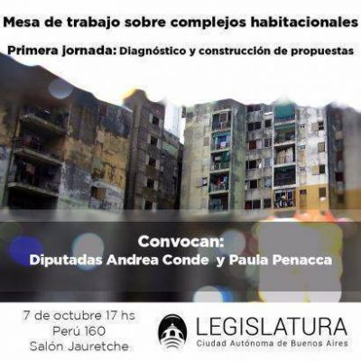 Complejos habitacionales