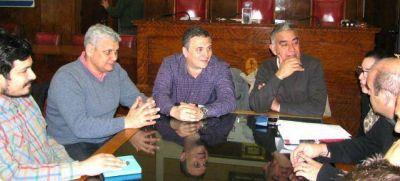 Funcionarios del municipio mantuvieron una reunión con organizadores de Trimarchi