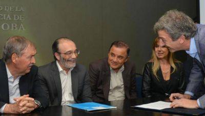 Cloacas: firmaron contrato para extender la red capitalina