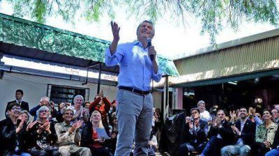 Mauricio Macri pasa el fin de semana largo en Tandil