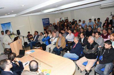 Con todo éxito se llevó a cabo la mesa de trabajo e inversiones productivas del Plan Belgrano