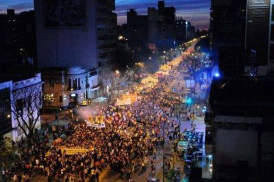La marea feminista inundó las calles con sus reclamos