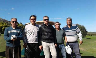 Mauricio Macri jugó al golf y descansó, en su primera visita a Tandil como presidente