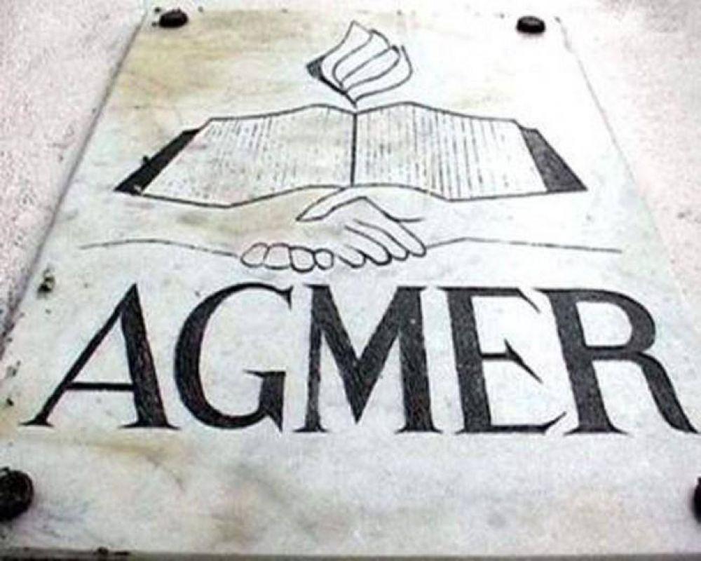 Agmer. Convocó a jornada de asambleas para el martes