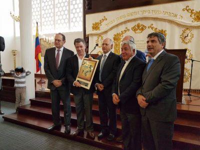 Nobel. Comunidad jud�a de Colombia: �Es un premio que enaltece a toda Am�rica Latina�