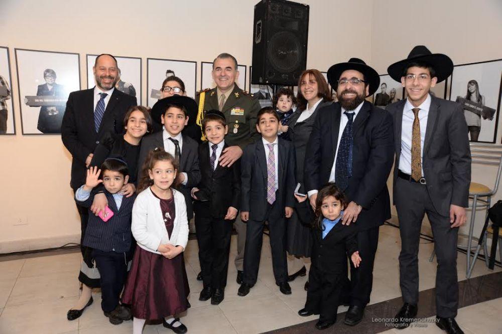 El presidente Macri apadrinó al séptimo hijo varón del rabino Yosef Coss