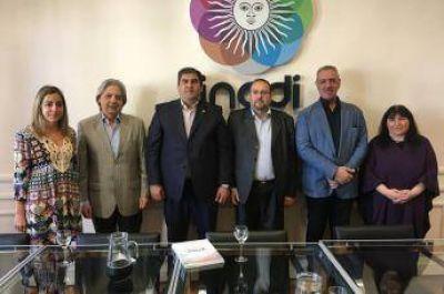 Presidente del Centro Islámico de la República Argentina visitó al INADI