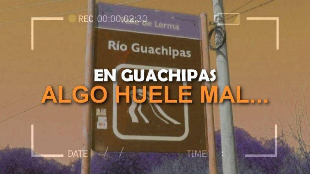 Guachipas inundada de desechos cloacales y nadie se hace cargo