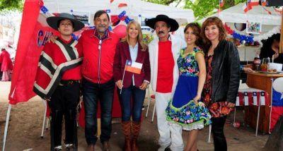 El Vicegobernador recorrió la Feria de las Naciones 2016 de la ciudad de Salta