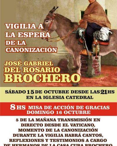 Habrá vigilia en Mar del Plata por la canonización del cura Brochero