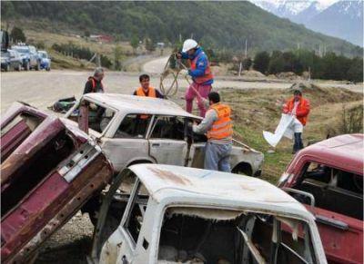 Sacaron del viejo autódromo gran cantidad de basura acumulada