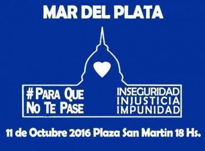 Se realiza este martes la marcha #Paraquenotepase