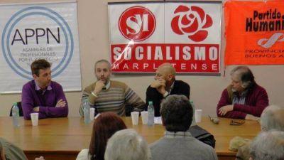 Continuó el ciclo de políticas públicas del Socialismo Marplatense