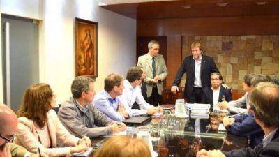 Equipo del BID se reuni� con autoridades de Infraestructura