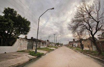 Corral gestiona obras en Chalet y San Lorenzo