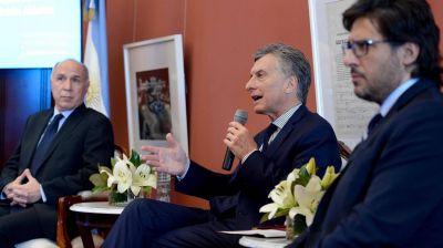 A horas de la marcha, Macri habló sobre inseguridad y presentó el