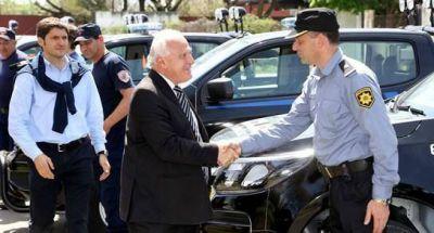 Lifschitz present� las nuevas camionetas de la Polic�a