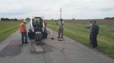 Trabajos de mejoras en la Ruta 80