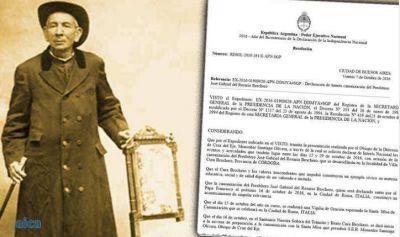 El gobierno argentino declaró de interés nacional la canonización del Cura Brochero
