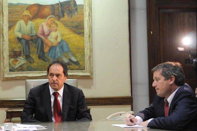 En pleno conflicto con el campo, Scioli echó a su ministro de Asuntos Agrarios