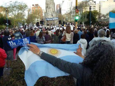 Con poca convocatoria, Mar del Plata reclamó por la inseguridad y la impunidad