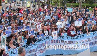 #ParaQueNoTePase: víctimas de inseguridad reclamaron en Mar del Plata