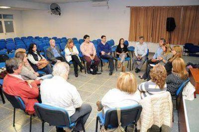 Britos presente en la mesa de articulación del Consejo Provincial de Educación y Trabajo