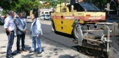 Avanzó el 50 por ciento de la obra de avenida Juan B. Justo