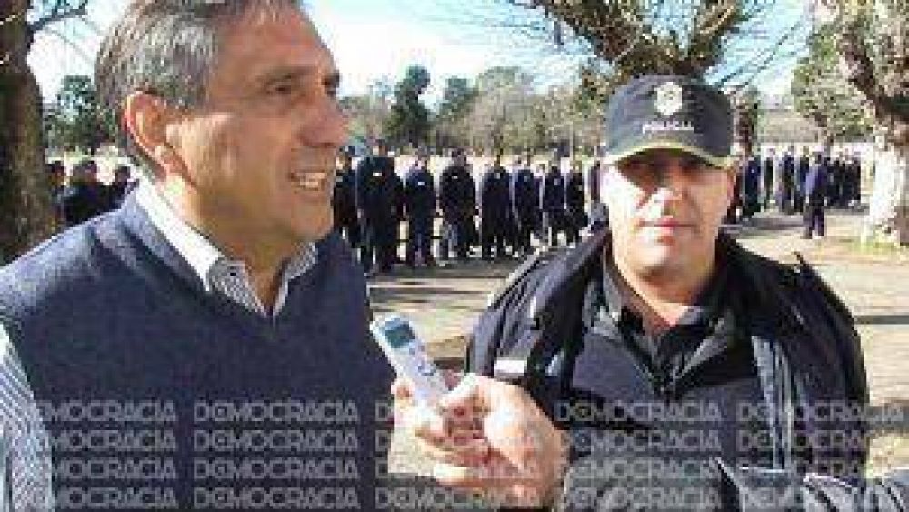 """""""Queremos una policía activa, pero dentro de la ley"""", dijo Claudio sobre el caso Micheli"""