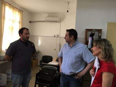 Autoridades de Salud visitaron los hospitales de Saujil y Pom�n