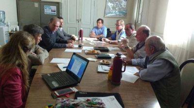 La Agencia de Desarrollo Productivo se reuni� en el Concejo