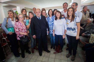 Arroyo inauguró la Unidad Gerontológica Municipal