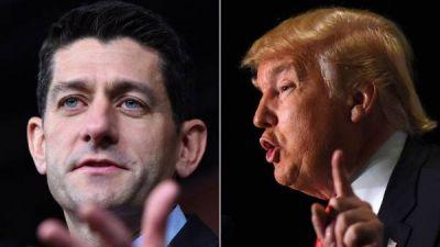 Trump, cada vez más sólo, acusa a los republicanos de torpedear su campaña