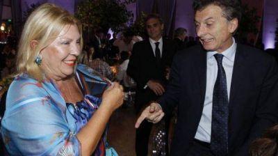 Lilita no está cómoda: Macri no le hace caso y se siente un cero a la izquierda
