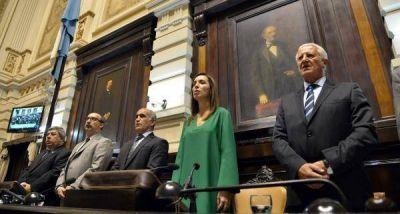 Presupuesto: Vidal re�ne a sus legisladores y lo ingresa al Senado
