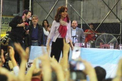CFK desembarca en tierras macristas y apuesta sus fichas al Frente Ciudadano